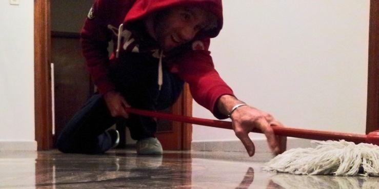 pulire casa studenti