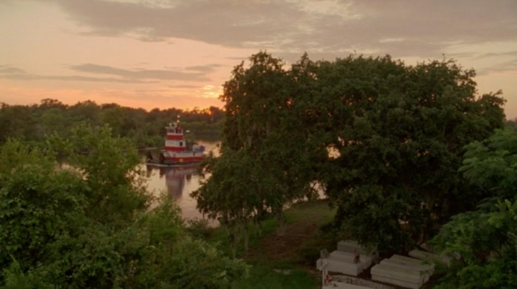 true detective sunset river boat