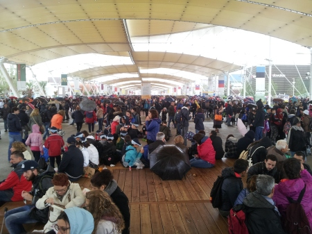Expo Milano 2015 Decumano