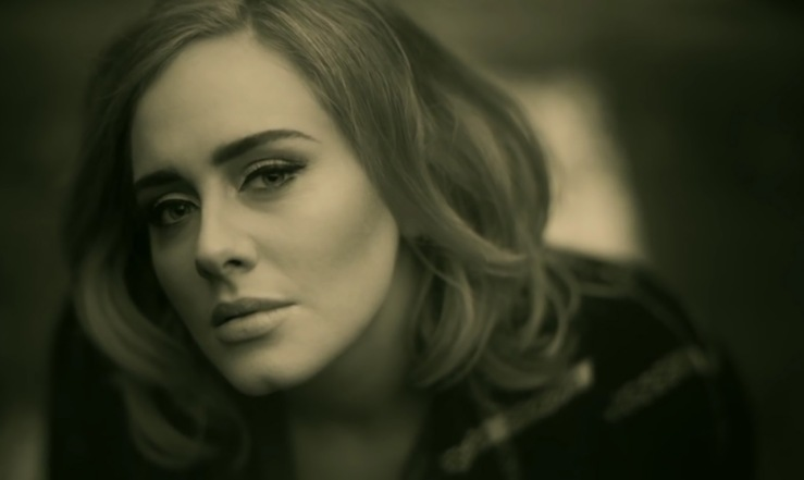 Adele hello single record